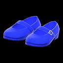 Paio di scarpe con cinturino (Blu)