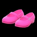 Paio di scarpe con cinturino (Rosa)