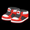 Paio di scarpe da basket (Rosso)