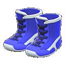 Paio di scarpe da wrestling (Blu)