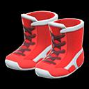 Paio di scarpe da wrestling (Rosso)