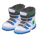Paio di scarponi da sci (Bianco)