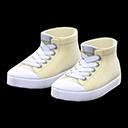 Paio di sneaker alte (Avorio)