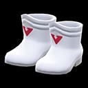 Paio di stivali da eroe (Bianco)