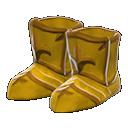Paio scarpe armatura dorata (Dorato)