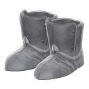 Paio scarpe armatura (Grigio)