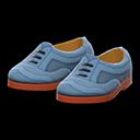 Paio scarpe coda di rondine (Grigio)