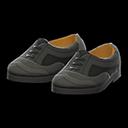 Paio scarpe coda di rondine (Nero)