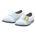 Paio scarpe nuziali fibbia (Bianco)