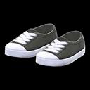 Paio scarpe punta in gomma (Nero)