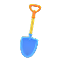 Pala colorata (Blu)