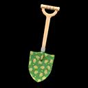 Pala con motivo stampato (Verde)