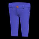 Pantalone chino (Blu marino)