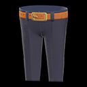 Pantalone classico (Nero)