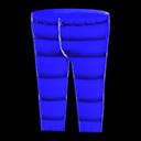 Pantalone imbottito (Blu)