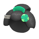 Parrucca da geisha (Verde)