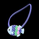 Pochette pesce (Blu)