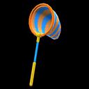 Retino colorato (Arancione e blu)