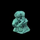 Statua pensierosa (Vero)
