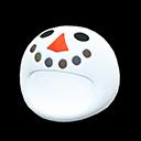 Testa da pupazzo di neve (Bianco)