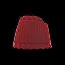 Top a fascia (Rosso scuro)