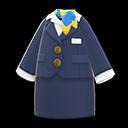 Uniforme da hostess (Nero)