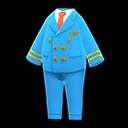Uniforme da pilota (Blu chiaro)