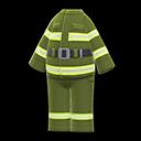 Uniforme da pompiere (Avocado)