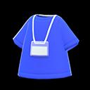 Uniforme da staff (Blu)