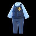 Uniforme di polizia (Blu marino)