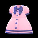 Vestito alla marinara (Rosa)