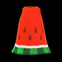 Vestito anguria (Rosso)