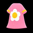 Vestito con fiore (Rosa)