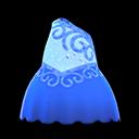 Vestito da pattinaggio (Blu)