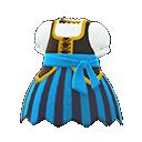 Vestito da pirata (Blu)