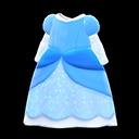 Vestito da principessa (Blu)