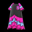 Vestito da rumba (Rosa)