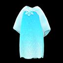 Vestito dei ghiacci (Blu glaciale)