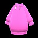 Vestito di felpa (Rosa)