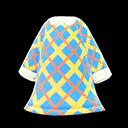 Vestito di tweed (Blu)