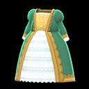 Vestito nobile (Verde)