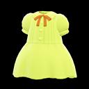 Vestito plissettato (Limetta)
