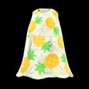 Vestito tropicale (Bianco)