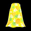 Vestito tropicale (Giallo)