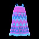 Vestito zigzag (Viola)