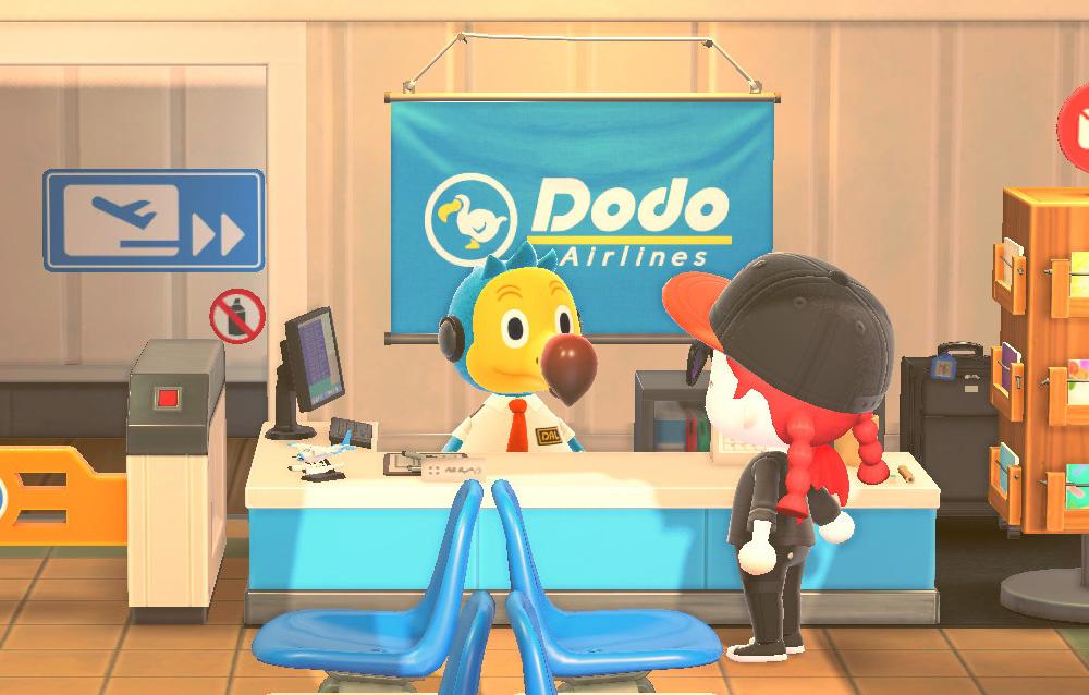 Tutti gli oggetti firmati Dodo Airlines disponibili su Animal Crossing: New Horizons