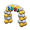 Arco buon anno 2021