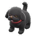 Cagnolino di peluche (Nero)