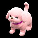 Cagnolino di peluche (Rosa)