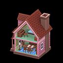 Casa delle bambole (Marrone)